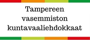 Vasemmistoliiton ehdokkaat Tampereen kaupunginvaltuustoon